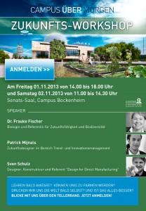 Zukunftsworkshop an der Goethe Uni Frankfurt